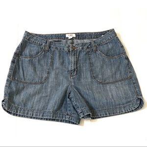 Cato Denim Shorts Size 16W